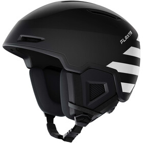 Flaxta Exalted Helmet black/white stripes